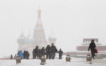 Высота снежного покрова в Москве достигла 3-х сантиметров